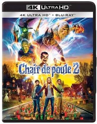 Chair de poule 2 - Les Fantômes d'Halloween (2018) (4K Ultra HD + Blu-ray)