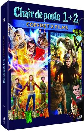 Chair de poule 1 + 2 - Coffret 2 Films (2 DVDs)