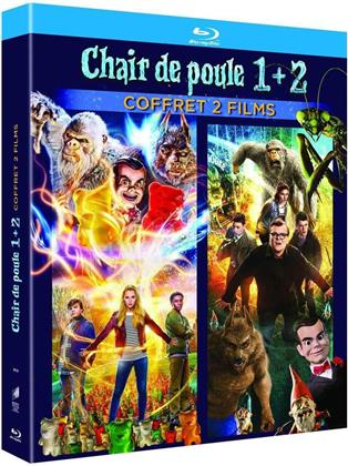 Chair de poule 1 + 2 - Coffret 2 Films (2 Blu-rays)
