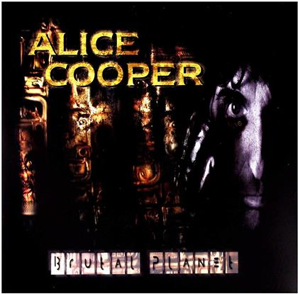 Alice Cooper - Brutal Planet (2019 Reissue, Gatefold, Earmusic, LP)