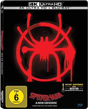 Spider-Man - A New Universe (2018) (Limited Edition, Steelbook, 4K Ultra HD + Blu-ray)