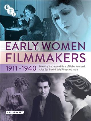 Early Women Filmmakers 1911-1940 (b/w, 4 Blu-rays)