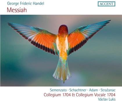 Georg Friedrich Händel (1685-1759), Vaclav Luks, Collegium Vocale 1704 & Collegium 1704 - Der Messias (2 CDs)
