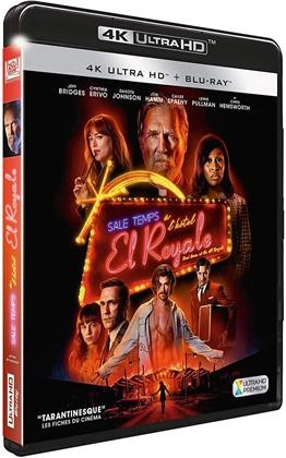 Sale temps à l'hôtel El Royale (2018) (4K Ultra HD + Blu-ray)