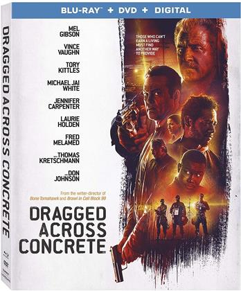 Dragged Across Concrete (2018) (Blu-ray + DVD)