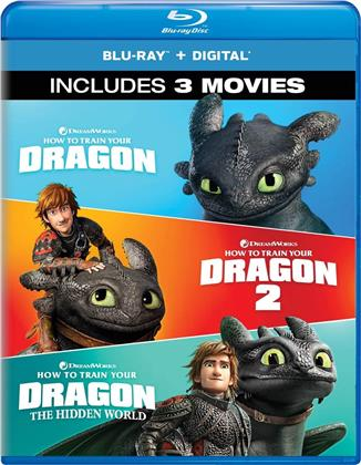 How To Train Your Dragon 1-3 (3 Blu-rays)