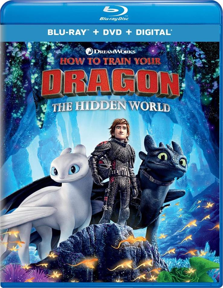 How To Train Your Dragon 3 - The Hidden World (2018) (Blu-ray + DVD)