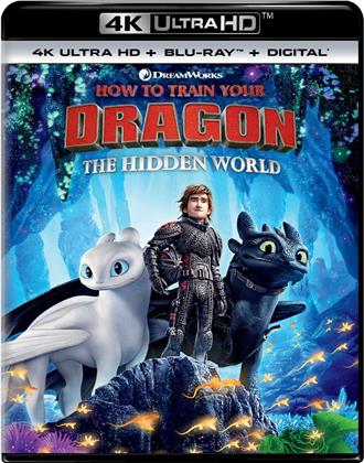 How To Train Your Dragon 3 - The Hidden World (2018) (4K Ultra HD + Blu-ray)