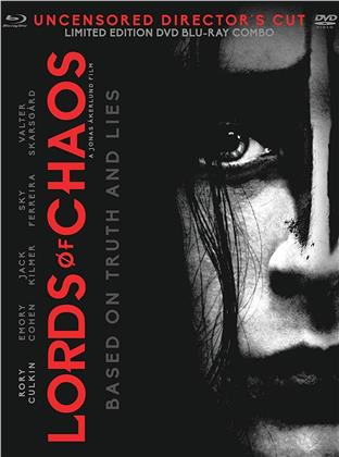 Lords Of Chaos (2018) (Uncensored, Director's Cut, Blu-ray + DVD)