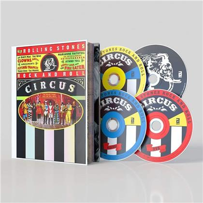 The Rolling Stones - Rock And Roll Circus (Limited Edition, Mediabook, Blu-ray + DVD + 2 CDs)