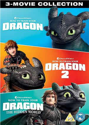 How To Train Your Dragon 1-3 (3 DVDs)