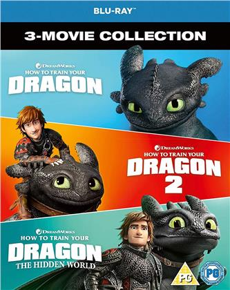 How To Train Your Dragon 1-3 (4 Blu-rays)