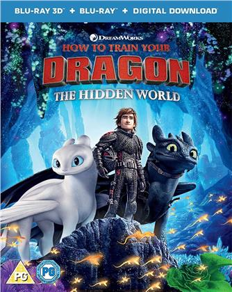 How To Train Your Dragon 3 - The Hidden World (2018) (Blu-ray 3D + Blu-ray)