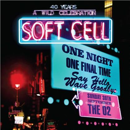 Soft Cell - Say Hello Wave Goodbye - Live At The O2 Arena (2 CDs + DVD)