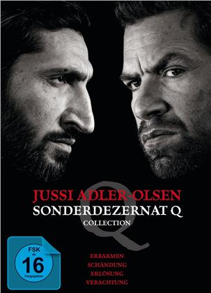 Jussi Adler-Olsen - Sonderdezernat Q (Collection, 4 DVDs)