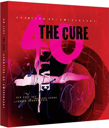 The Cure - Curaetion 25 - Anniversary (Limited Boxset, 2 DVDs + 4 CDs)