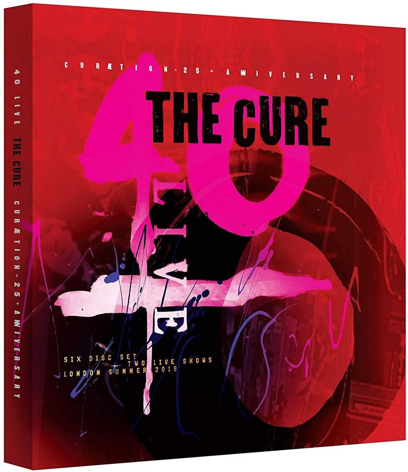 The Cure - Curaetion 25 - Anniversary (Limited Boxset, 4 CDs + 2 Blu-rays)