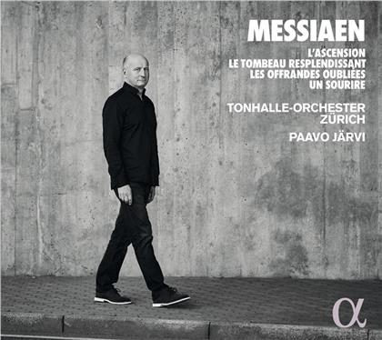 Paavo Järvi, Tonhalle Orchester Zurich & Olivier Messiaen (1908-1992) - L'Ascension