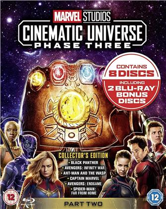 Marvel Studios Cinematic Universe - Phase 3 - Part 2 (10 Blu-rays)