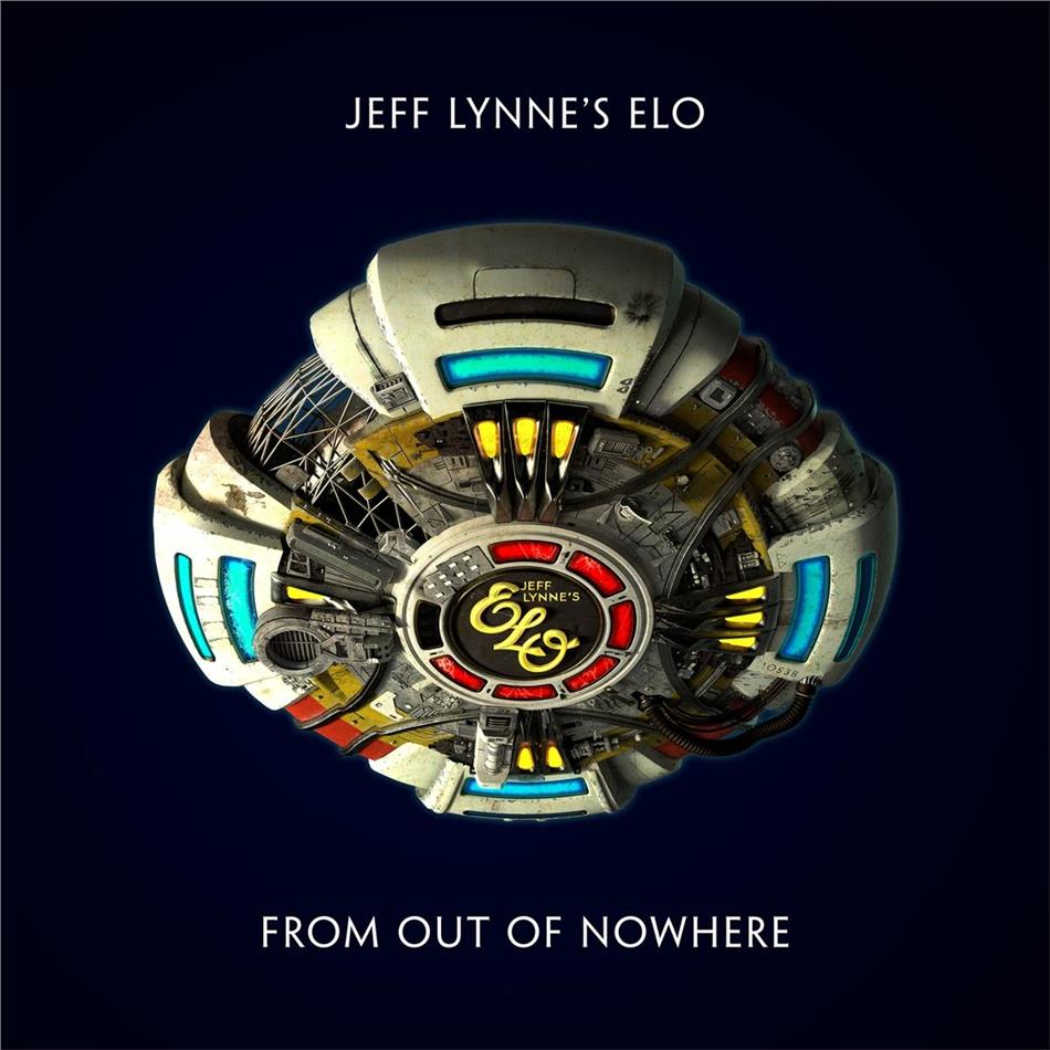 Jeff Lynne's ELO - From Out of Nowhere (Softpack mit geprägtem ELO-Spaceship)