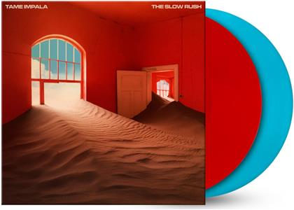 Tame Impala - The Slow Rush (Exclusive Edition, Limited Edition, Red & Light Blue Vinyl, 2 LPs)